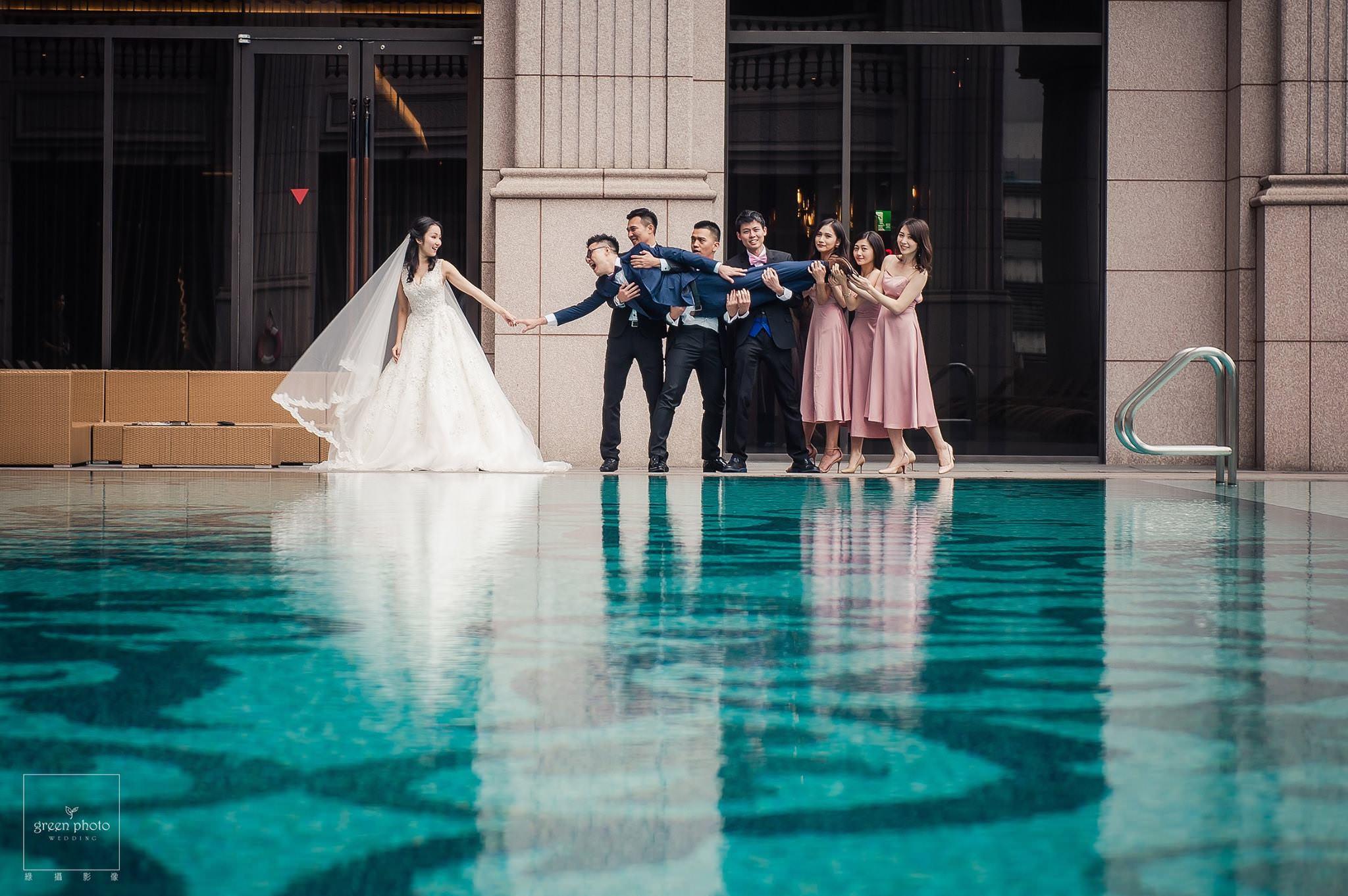 台北美福大飯店_池畔酒吧_婚禮派對2