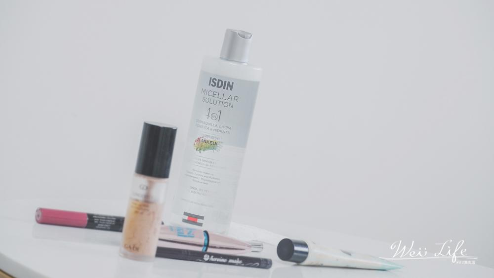 保濕卸妝水推薦ISDIN四效合一卸妝潔膚水