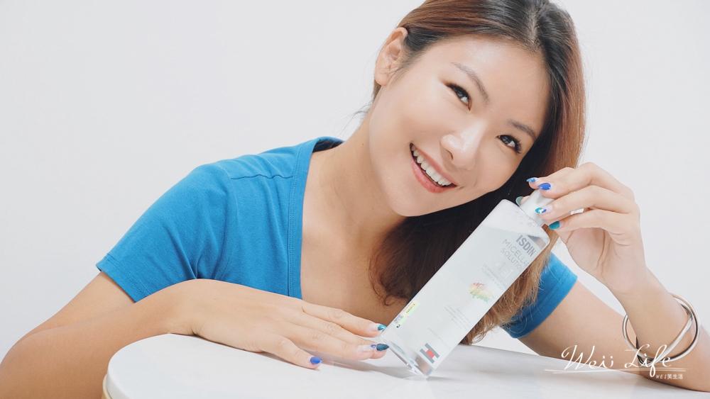 保濕卸妝水推薦ISDIN卸妝水